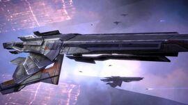 Turian cruiser 01