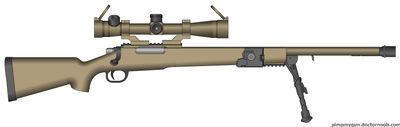 Tet-12 Artillery Coordination Rifle