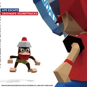 Ape Escape Originape Soundtracks - Soichi Terada