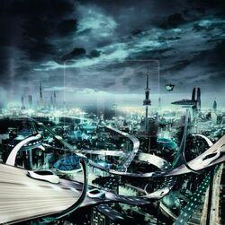 Futuristic-city