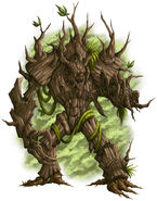 DS Monsters Treant by willowWISP