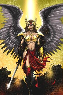 Hawkgirl by JeffieB