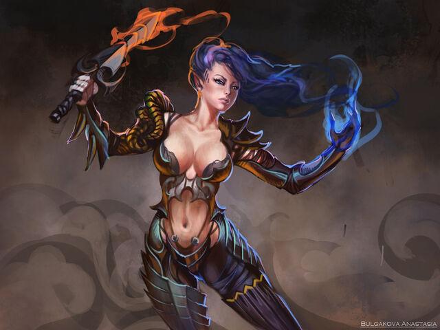 File:Dragon woman sketch by sinto risky-d4vpy22.jpg