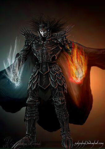 File:The Dark Lord Melkor V3 by sayjinlink.jpg