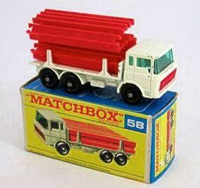 DAF Girder Truck (1968-69 RW BOX)