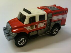 International WorkStar BrushFire Truck red