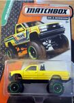 2015 matchbox Chevy k1500 one is a error missing tampo