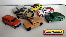 Hummer (Humvee Matchbox Cars)
