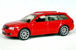 Red Audi RS6 Avant - 6703df