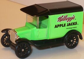 MBX 1921 Model T Ford Apple Jacks