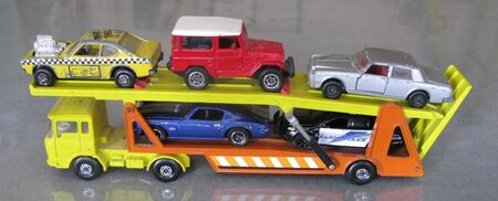 K10 DAF Car Transporter loaded 20120610 JSCC