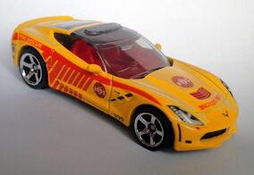 Corvette Stingray (2016)-Cast