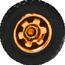 Tire Wheels orange 2017