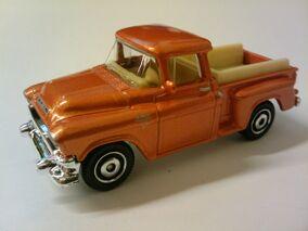 1957 GMC Stepside orange