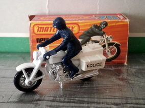 Honda 750 Police Motorcycle (Casting)