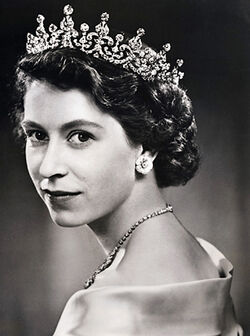 Elizabeth II, old picture