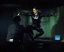 The Matrix Trinity Kick