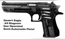Desert eagle internal layout