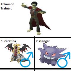 Lord Tenoroc's Pokemon