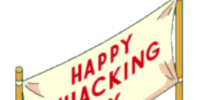 Whacking Day Banner