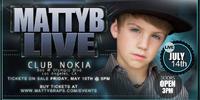 MattyB Live at Club Nokia