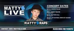 MattyB Live concerts banner