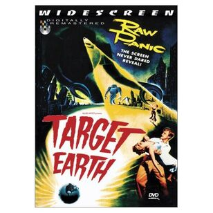 Target Earth DVD Cover
