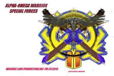 Alpha-omega warrior logo 1