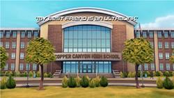 My Best Friend is an Ultralink title screen