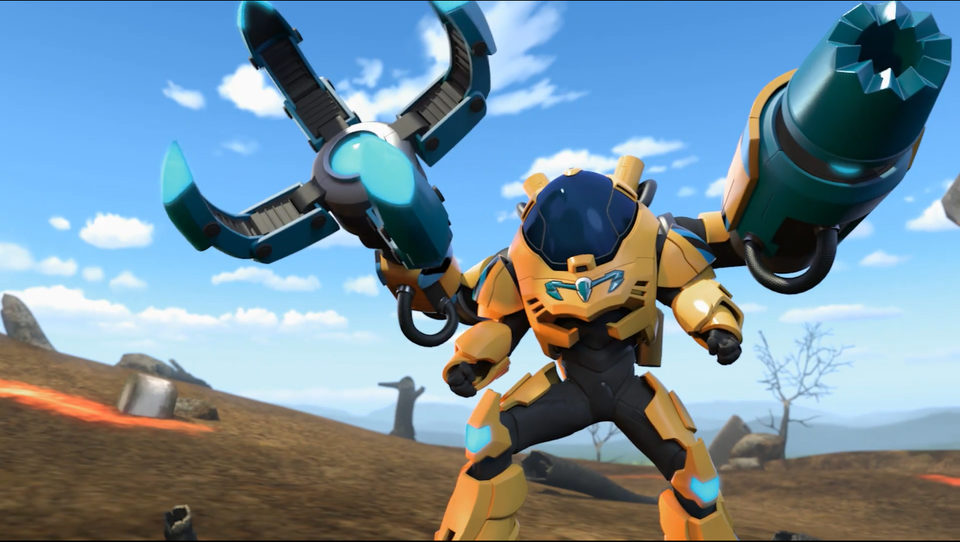 Turbo Hammer Claw Mode | Max Steel Reboot Wiki | FANDOM ...