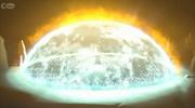 Mortum's dome-like shield