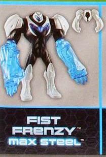 Fist Frenzy Max Steel