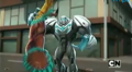 Max Steel and Morphos' Arm