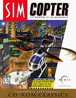 Simcopter box cover