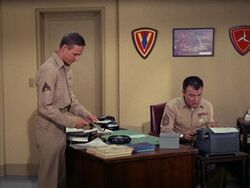 Desk Job for Sergeant Carter