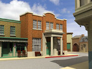 3d courthouse&shops 8 ray traced
