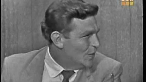 Andy Griffith--What's My Line-0