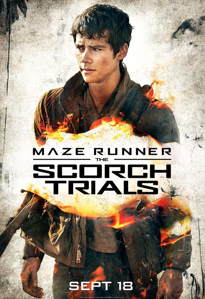 The scorch trials book main characters