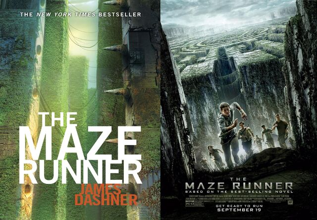 File:Maze Runner Book Cover and Movie Poster.jpg