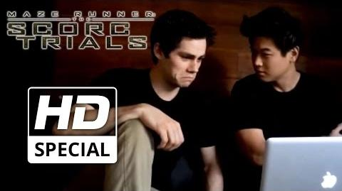 Maze Runner The Scorch Trials Trailer Reaction feat. Dylan O'Brien & Ki Hong Lee HD 2015