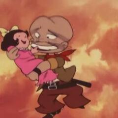 Hikaru as a baby