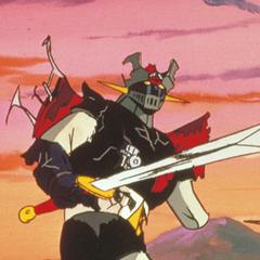 battle damaged mazinger