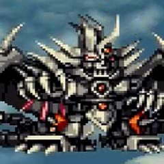 Mecha Gilgilgan in Super Robot Taisen F Final.