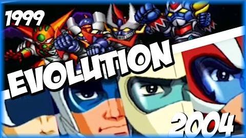 Evolution of FINAL DYNAMIC SPECIAL (1999-2009) スーパーロポット大戦 SRW