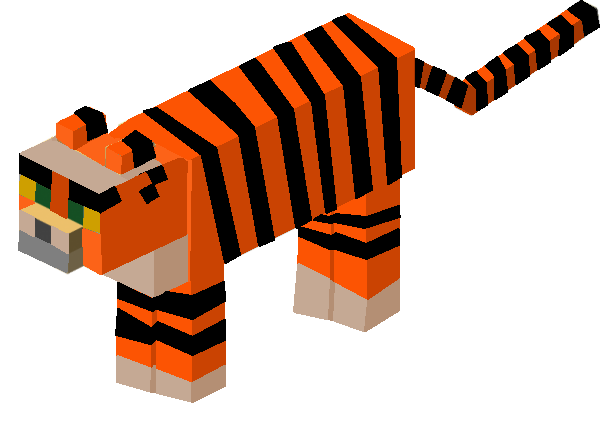 File:Minecraft mob ideas tigers by dylan613-d7ddbco.png