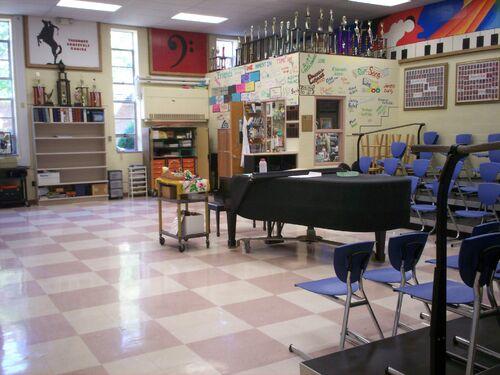 Kent Roosevelt choir room