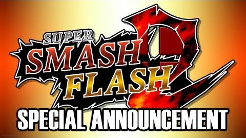 Super Smash Flash 2 Beta special announcement video.