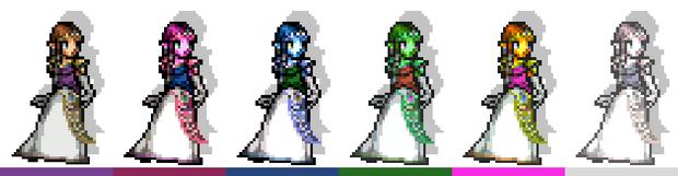 Zelda Palettes