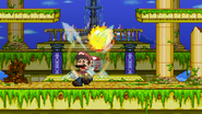 Super Sonic Homing Attack