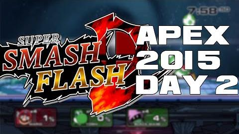 Super Smash Flash 2 Beta Apex 2015 Day 2